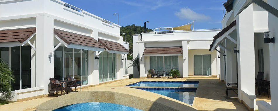 Rent a villa with a pool right outside your door